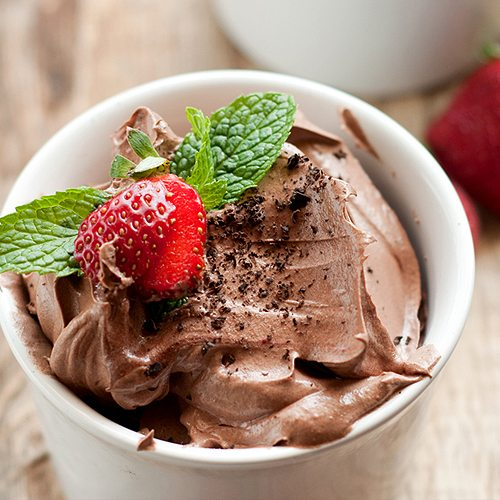 Maca Chocolate Mousse