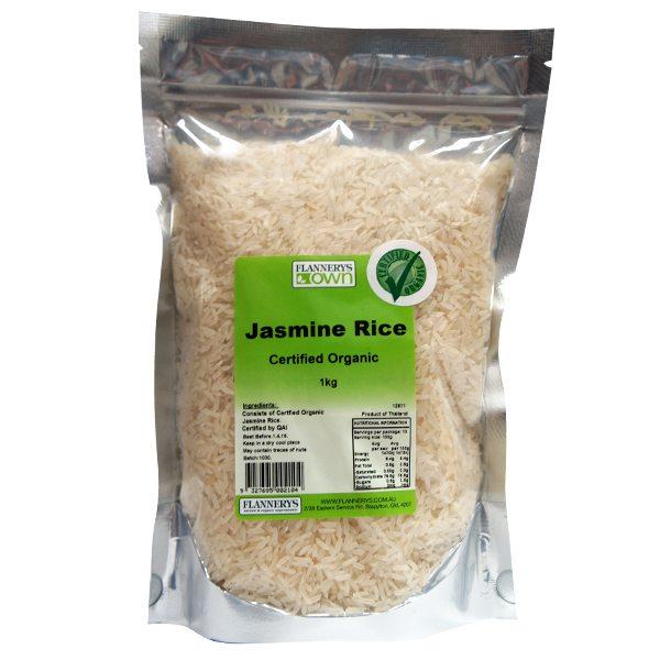 Organic Jasmine Rice - Flannerys