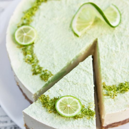 Raw Coconut Lime Cheesecake