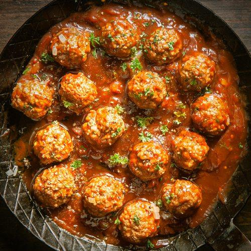 Chia Meatballs