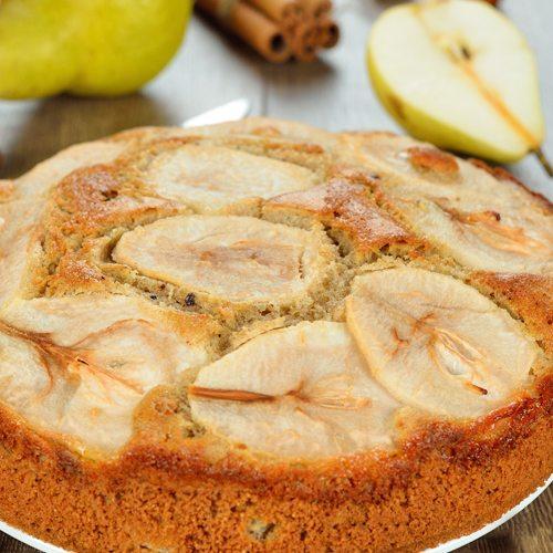 pear-almond-cake
