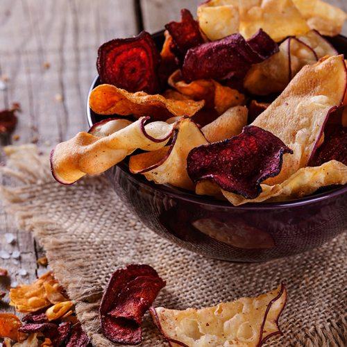 Coconut Oil Vegetable Chips