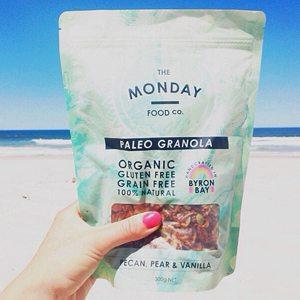 chunky paleo granola