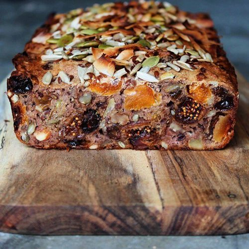 Try our Fruit Nut Seed Loaf by Emma!