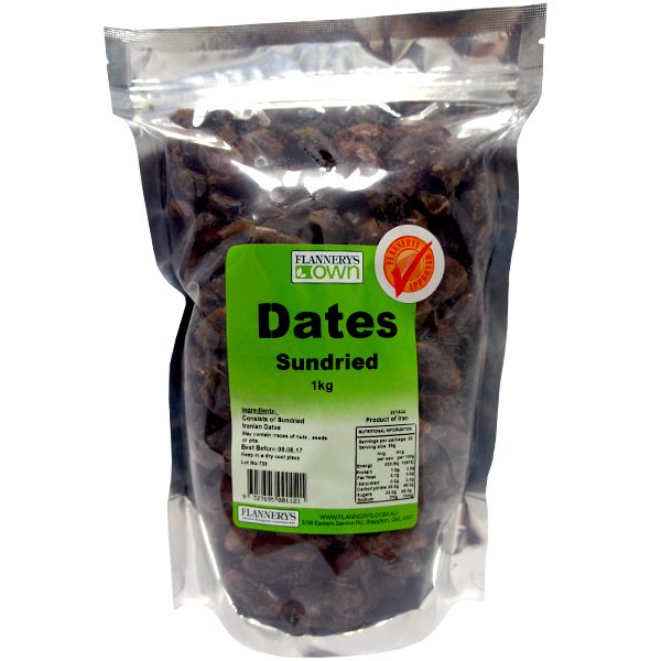 Flannerys Own Sundried Dates
