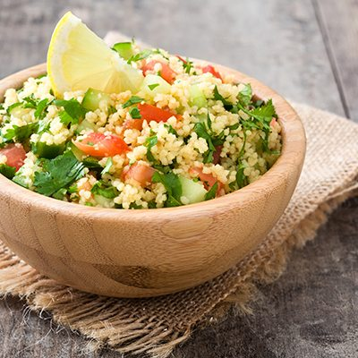 Easy Amaranth Tabbouleh