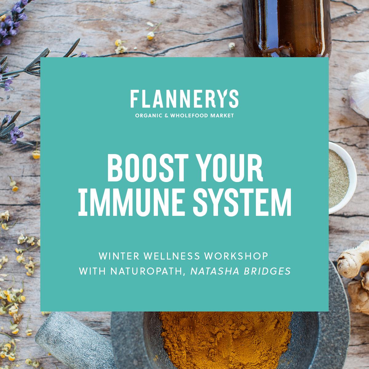 Winter Wellness Workshop – Boost Your Immune System