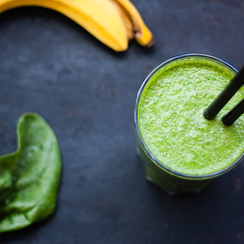 Peanut Butter Green Smoothie