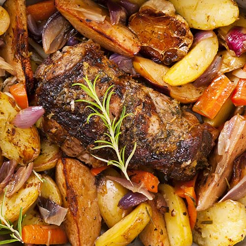 Family Roast Lamb