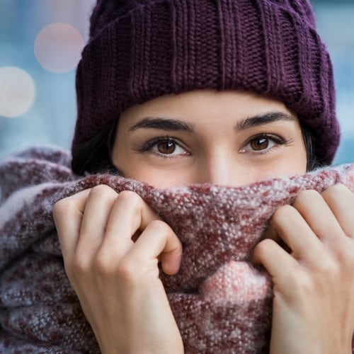 Why do Some people feel the cold more than others?