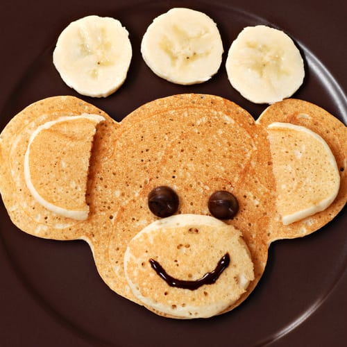 Cheeky monkey pancakes