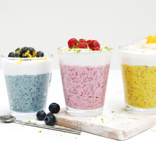 Blue Frog Overnight 'Probiotic' Bircher