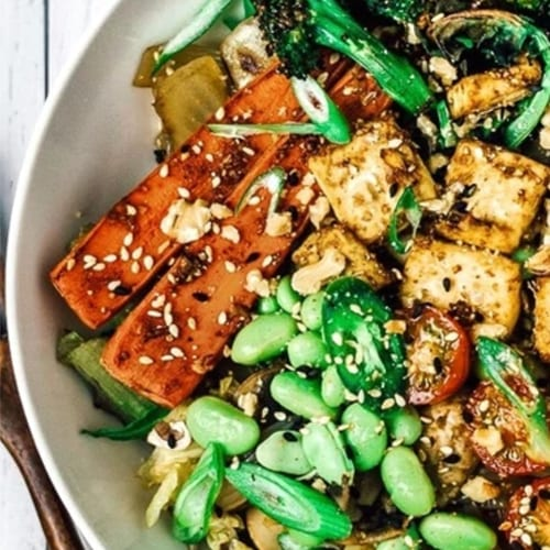 Asian Inspired Nourish Bowl