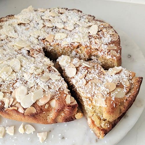 summer almond cake