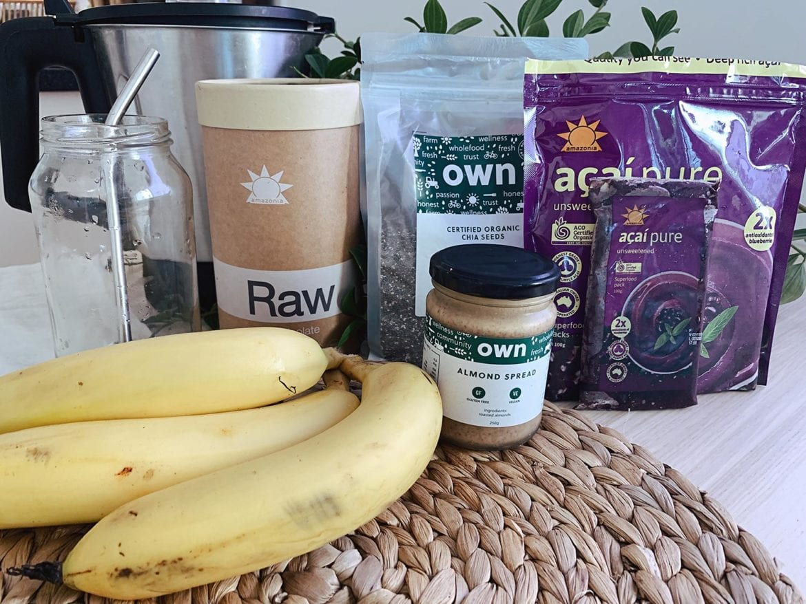 super morning smoothie ingredients