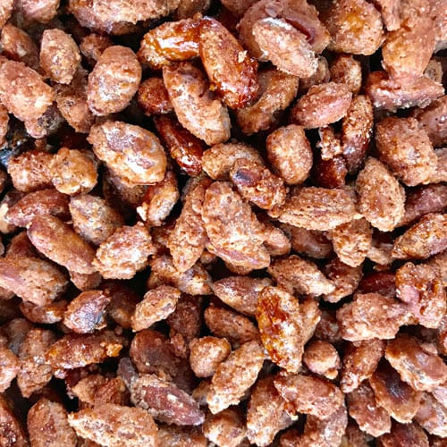 Sweet and Salty honey almonds