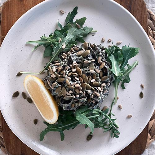Cauliflower & Kale Pasta