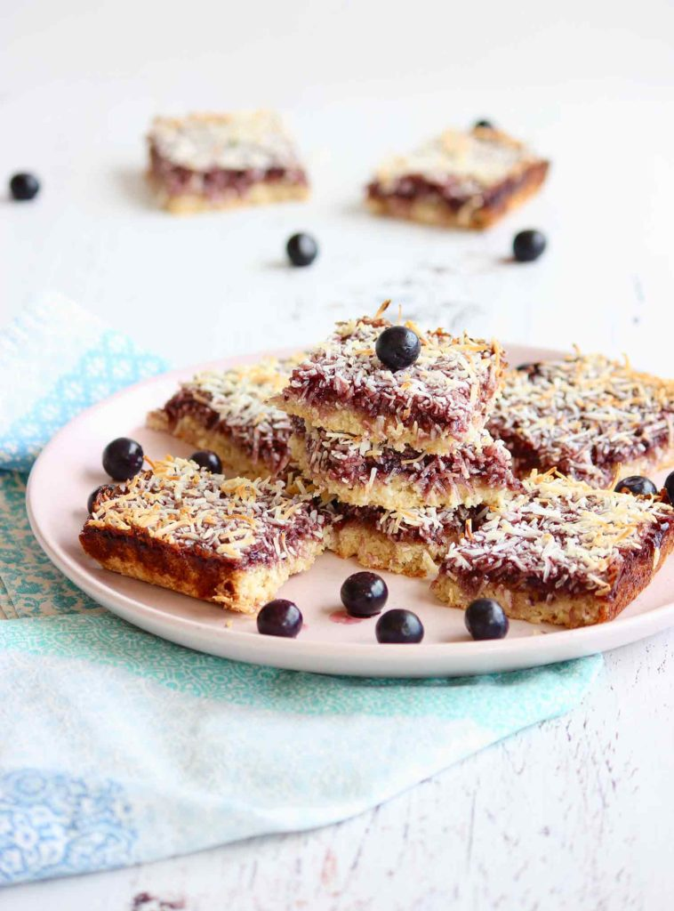 blueberry-coconut-slice