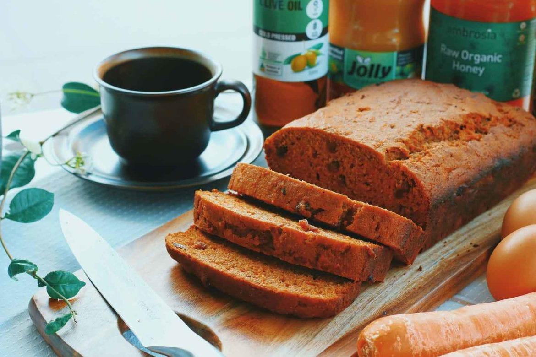 carrot honey bread