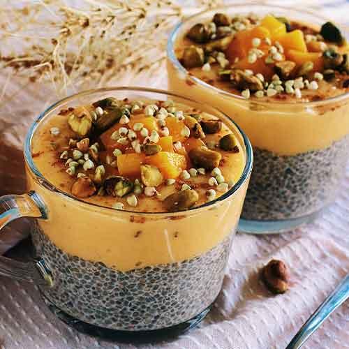 Mango Lassi Chia Pudding