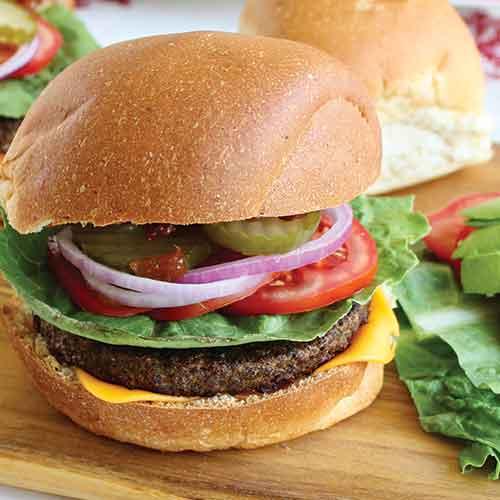 Plant-Based BBQ Burgers