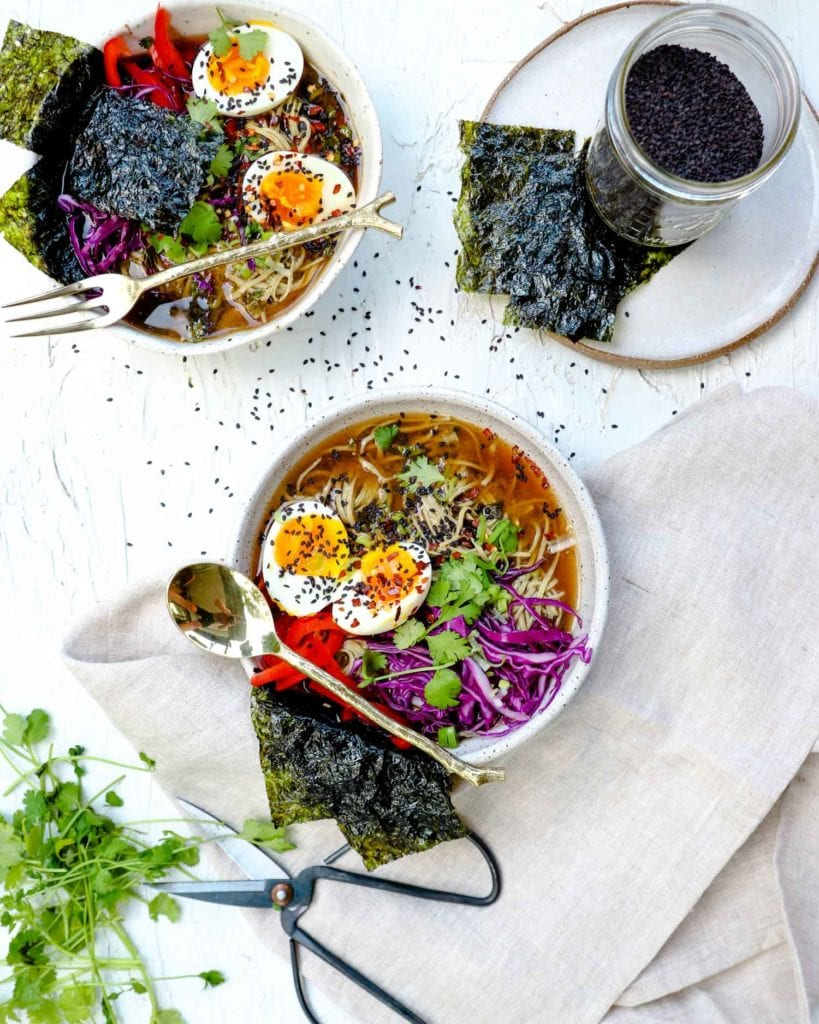 miso noodle broth