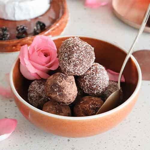 Valentines Cherry Truffles