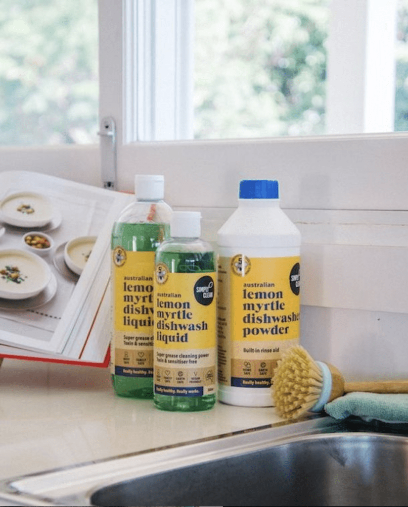 kitchen cleaning naturally