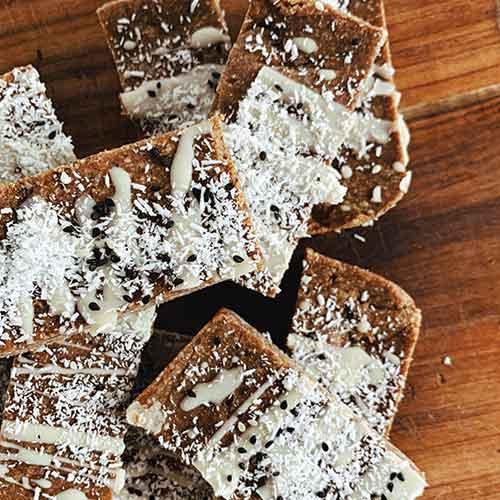 Almond & Maca Slice