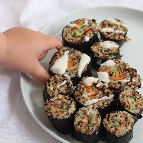 Quinoa Sushi Bites