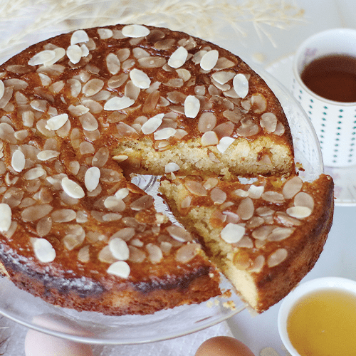 Almond & Olive Oil Tea Cake