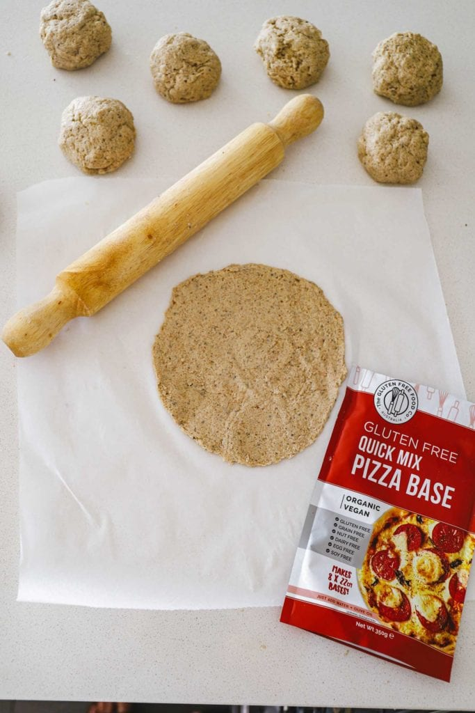 Gluten Free Pizza base quick mix