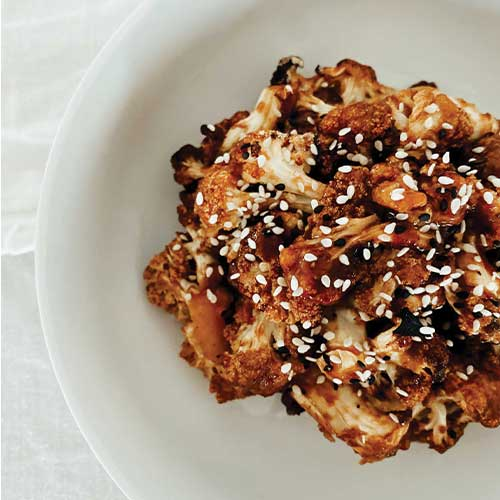 Teriyaki Cauliflower Bites