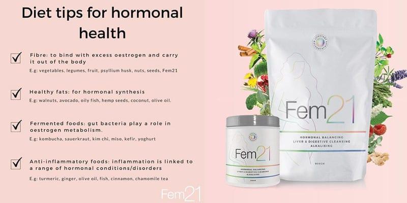 Fem21 diet tips