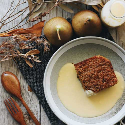 Pear Lumberjack Cake