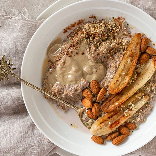 Breakfast Oats to Get Up & Go
