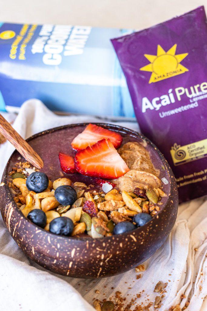 Acai Bowl with Acai Pure