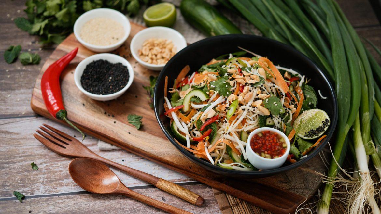 spring noodle salad