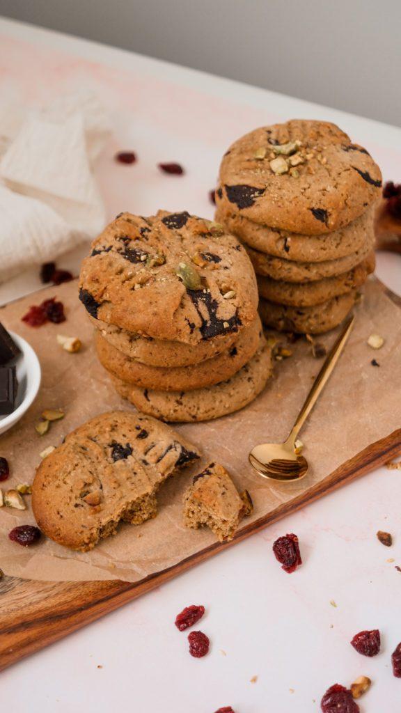Turkish delight biscuits
