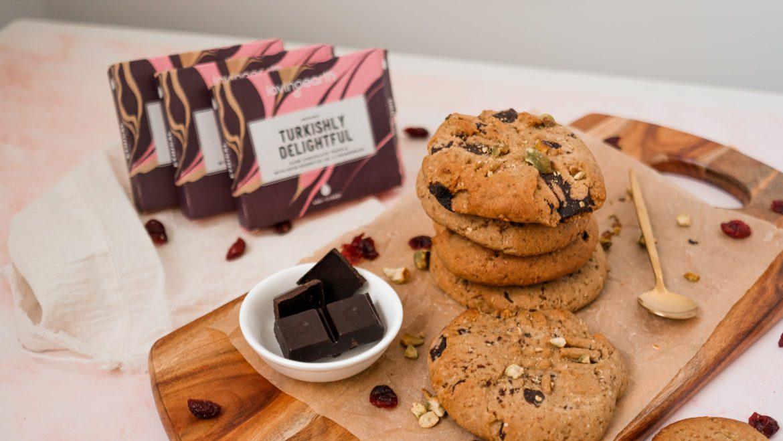 Turkish delight cookies